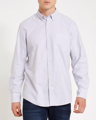 Regular Fit Long-Sleeved Oxford Stripe Shirt thumbnail