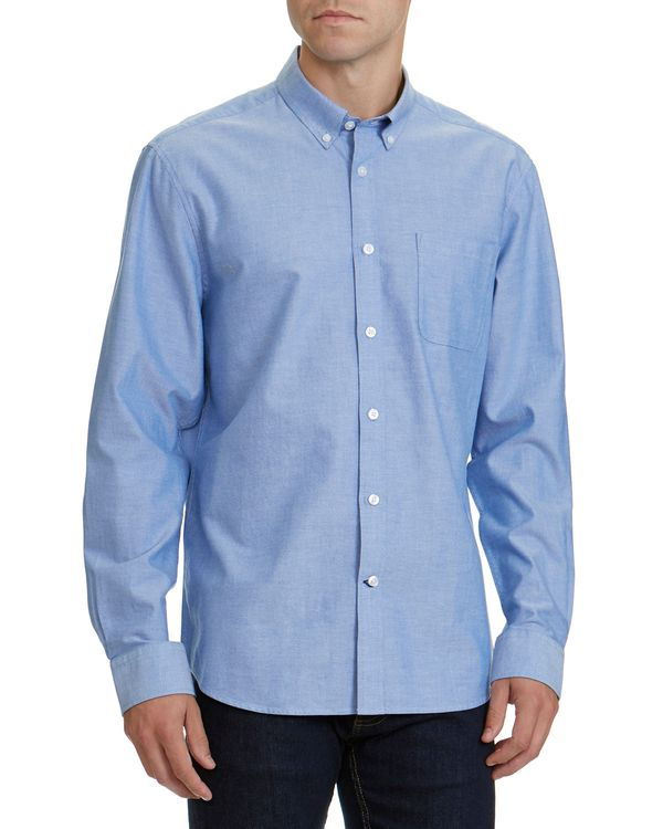 Regular Fit Long-Sleeved Oxford Shirt