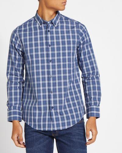 Long-Sleeved Slim Tableline Shirt