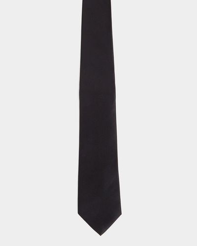 Black Slim Tie thumbnail