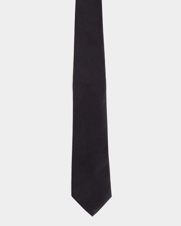 Black Slim Tie