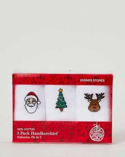 Christmas Hankie Set - Pack Of 3