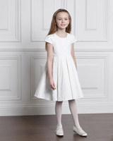 cream Paul Costelloe Living Chloe Dress
