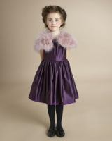 pink Paul Costelloe Living Marabou Feather Shrug