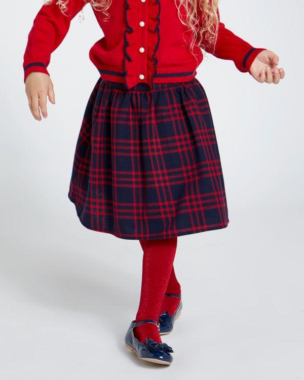 Paul Costelloe Living Charli Check Skirt