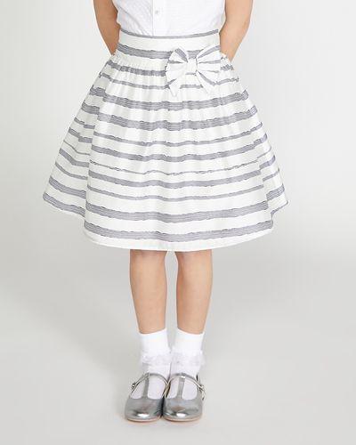 Paul Costelloe Living Georgia Stripe Skirt