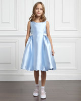 blue Paul Costelloe Living Charlotte Flower Girl Dress