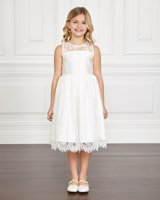 ivory Paul Costelloe Living Cara Flower Girl Dress