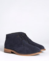 navy Paul Costelloe Living Suede Shoes