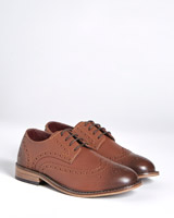 brown Paul Costelloe Living Leather Brogues