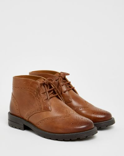 Paul Costelloe Living Boys Brogue Boots