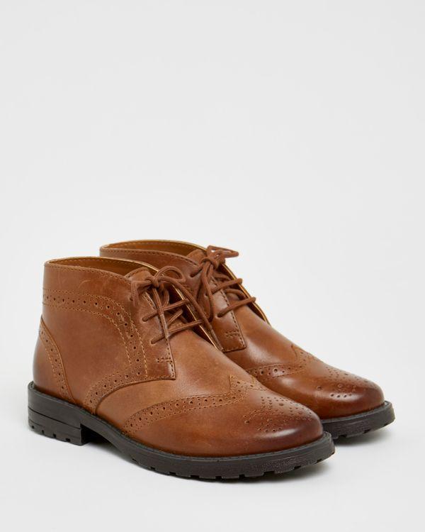Paul Costelloe Living Boys Brogue Boots