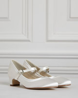 ivory Paul Costelloe Living Ivory Shoe With Heel