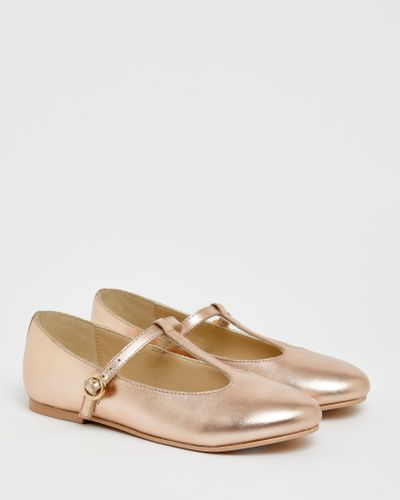 Paul Costelloe Living Leather T-Bar Pumps