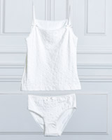 ivory Paul Costelloe Living Vest And Brief Set