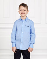 blue Paul Costelloe Living Dot Shirt