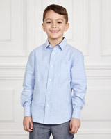 blue Paul Costelloe Living Oxford Shirt
