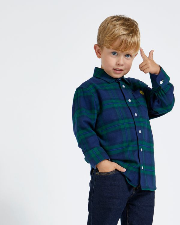 Paul Costelloe Living Green Check Shirt