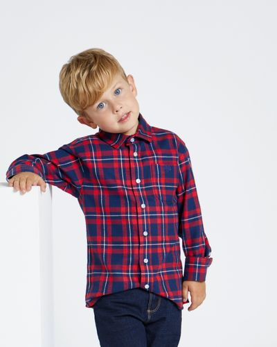 Paul Costelloe Living Red Check Shirt