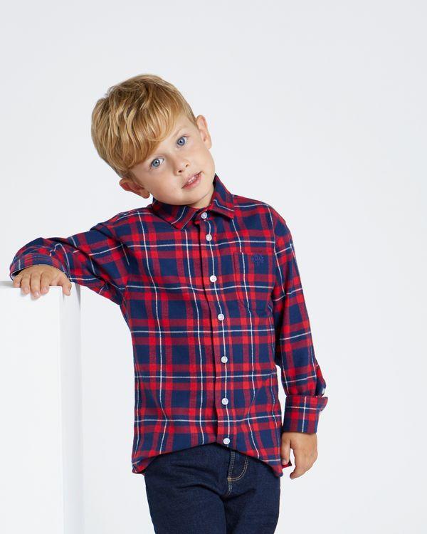 Paul Costelloe Living Red Check Shirt