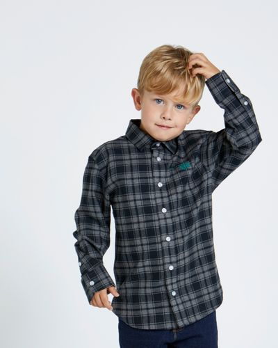 Paul Costelloe Living Grey Check Shirt