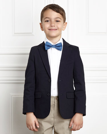 navy Paul Costelloe Living Boys Blazer