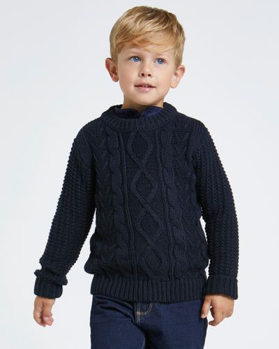 Paul Costelloe Living Cable Knit Jumper thumbnail