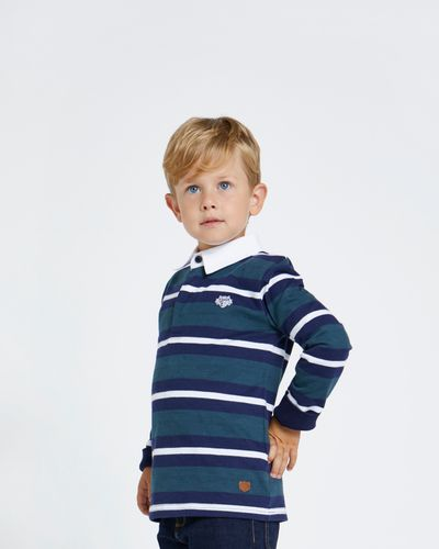 Paul Costelloe Living Multi Stripe Rugby Top