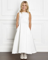 ivory Paul Costelloe Living Emily Dress