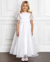 white Paul Costelloe Living Isobel Dress
