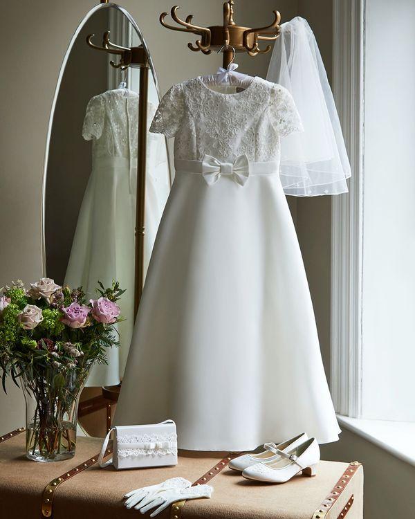 Paul Costelloe Living Ivory Kayla Dress