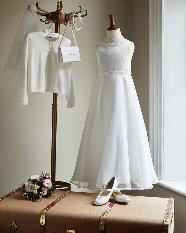 Paul Costelloe Living Ivory Ruby Dress