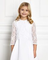 white Paul Costelloe Living Lace Bolero