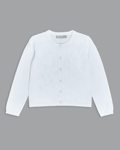 Paul Costelloe Living Embroidered Cardigan thumbnail