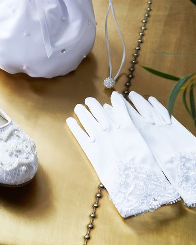 Paul Costelloe Living Beaded Lace Glove