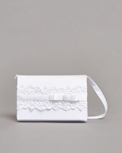 Paul Costelloe Living Lace Box Bag thumbnail