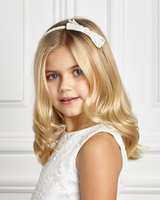 ivory Paul Costelloe Living Bow Hairband