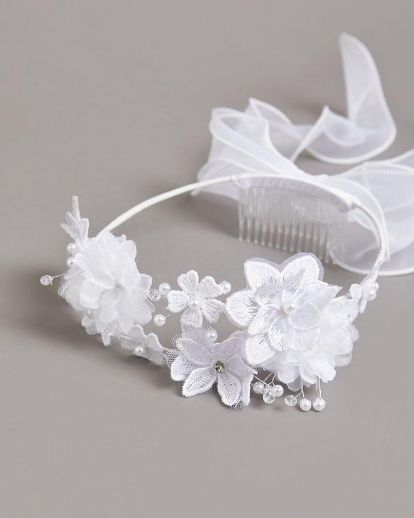Paul Costelloe Living Pearl Floral Crown