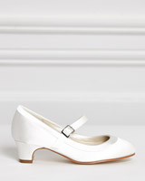ivory Paul Costelloe Living Heeled Shoes