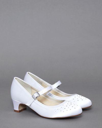 Paul Costelloe Living Diamante Heel Shoes thumbnail