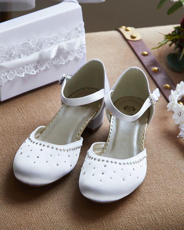 Paul Costelloe Living Pearl Heel Shoe (Size 12-4)
