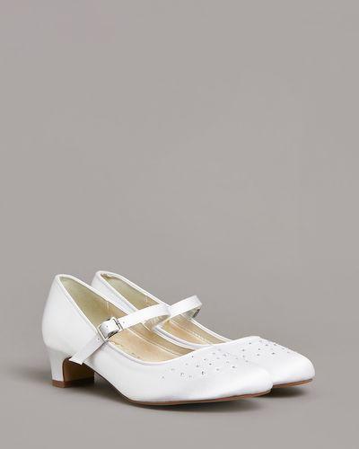 Paul Costelloe Living Diamante Heel Shoe (Size 12-4)