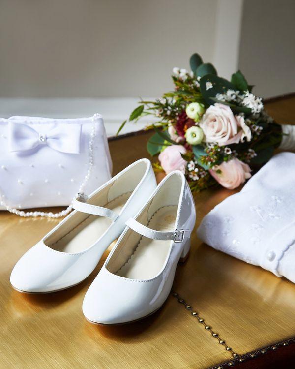 Paul Costelloe Living Patent Heel Shoe (Size 12-4)