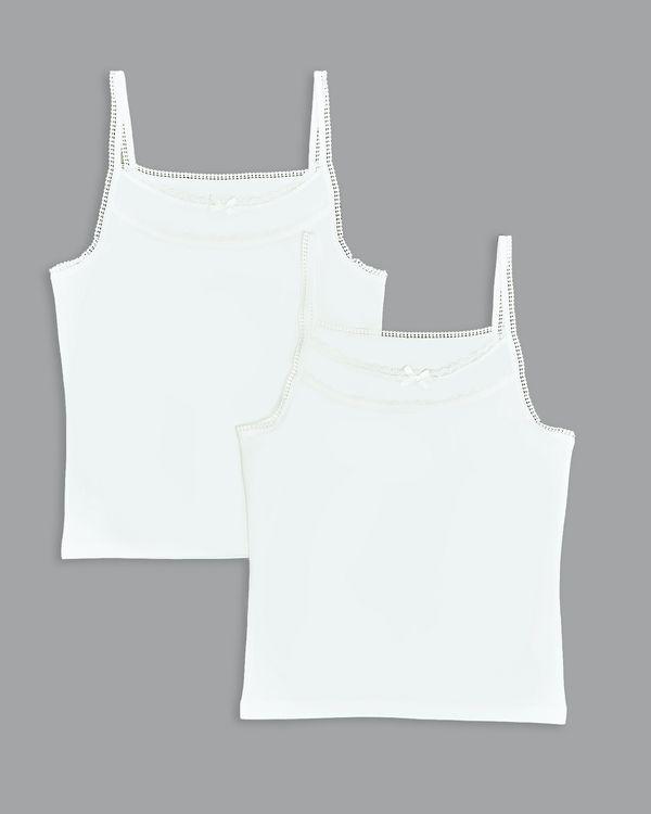 Paul Costelloe Living Vest Ivory - Pack Of 2 (5-13 years)