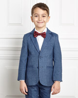 blue Paul Costelloe Living Boys Blazer