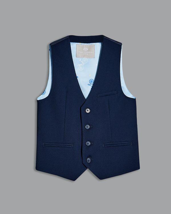 Paul Costelloe Living Navy Waistcoat