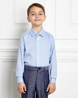 blue Paul Costelloe Living Light Blue Shirt