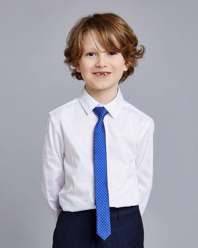 Paul Costelloe Living Blue Dot Tie