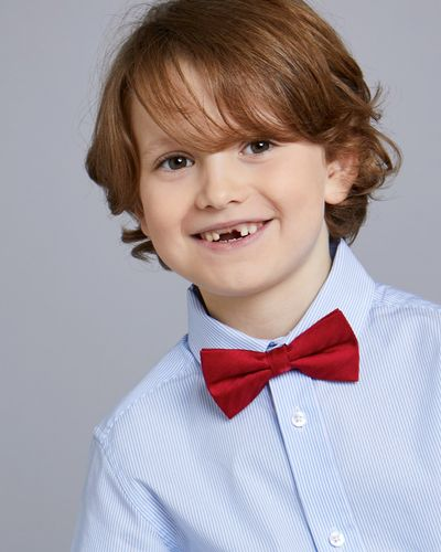 Paul Costelloe Living Solid Red Bow Tie