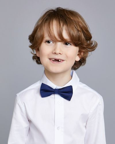 Paul Costelloe Living Solid Navy Bow Tie
